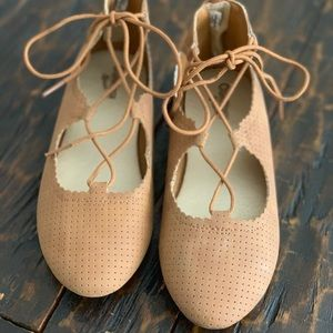 Osh Kosh Bgosh girls SIZE 3 ballet flat shoes